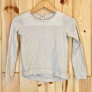 Oshkosh Girls Gray Sweatshirt 10